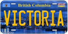 Victoria British Columbia Canada Aluminum Novelty Car License Plate P01