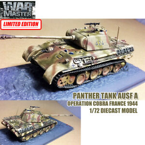 Panther Tank Ausf A Operation Cobra France 1/72 DIECAST FINISHED TANK WAR MASTER