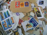 500 GRAMS OF KILOWARE  - STAMPS SAVED OVER THE YEARS NOT MANY DEFINITIVES