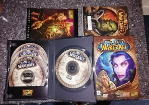 World of Warcraft PC-CDROM 5 Disc Game - Boxed and very good condition