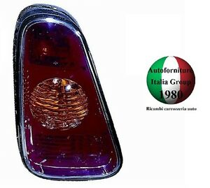 FANALE FANALINO STOP POSTERIORE SX ROSSO MINI ONE / COOPER 01>04 2001>2004