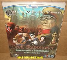 Shin Megami Tensei Devil Summoner Official Guide Book PlayStation 2 PS2 New