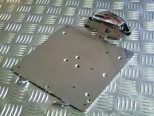 Number Plate Mount Plate Incl. Lighting for Harley Davidson Custom