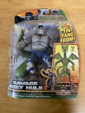 Marvel Legends Fin Fang Foom series Savage Grey Hulk w/left leg
