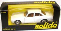 SOLIDO VINTAGE NO. 1096 JAGUAR XJ12  XJ6 - WHITE -  MINT BOXED
