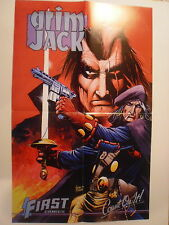Grimjack Promotional Poster, Timothy Truman, First Comics, Count On It!