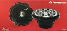 "NEW Rockford Fosgate PM262B 6.5"" Marine Audio 2-Way Speakers 6-1/2"" BLACK 1 PAIR"