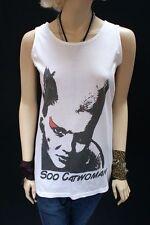 Patternless Cats Sleeveless T-Shirts for Women