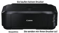 """Canon Drucker iP3600 iP4600 iP4700 iP4850,iP4950,"""" Wartung durchführen """""""