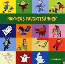 Enfants CD Suédois 15 barnens favoritsånger, Fifi, Pettson, Emil, Karlsson, Moomin