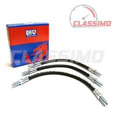 Flexi Brake Hose Set of 3 for FORD CAPRI MK 3 - 1.6 & 2.0 - 1978-1987 - QH