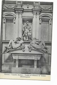 Firenze - Cappelle Medicee - Tomba di Giuliano de Medici (Michelangiola)