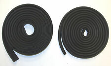 1934-1938 Chrysler Desoto Door Weatherstripping Rubber  Kit, 4 Door Cars