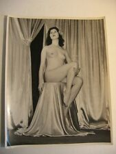 Vintage Nude Photo c1930, 8x10 Glossy,