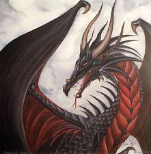 Nene Thomas Fire Heart Fireheart Dragon LE Print Signed Limited Edition NEW