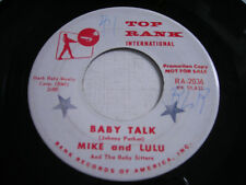 Mike and Lulu Baby Talk / Baby's Lullaby 1960 45rpm VG++ PROMO