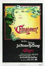 Vintage Chinatown Movie Poster/ Classic Movie Poster/Movie Poster/Poster Repr