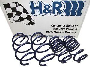 H&R SPORT LOWERING SPRINGS 97-04 PORSCHE BOXSTER & S