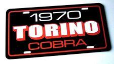 1970 Ford Torino Cobra License Plate Car Tag 70 Fastback Super Cobra Jet 429