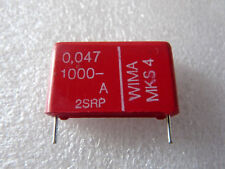 2 condensateurs Wima MKS 47nF 1000V