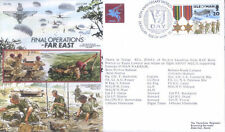 AF19Ba RAF Airborne Forces WWII PARA Gurkha Fast East RAF flown army VJ Day FDC