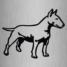 English Bull Terrier Sticker Silhouette Vinyl Car Decal 175mm x 140mm