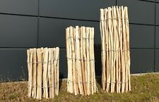 Staketenzaun Höhe 60-120cm  Gartenzaun Zaunlatte Holzzaun Zaun Haselnussvollholz