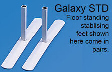 STD feet for floor standing Screen Divider Panel - Free Delivery