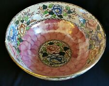 More details for maling bowl peony rose