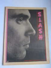 Slash vol 2 #10 Talking Heads Gary Panter Angry Samoans DOA Gang of Four 1979