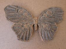 Vintage Syroco Plastic Butterfly. Wall Hanging.7.75in Wingspan One Only