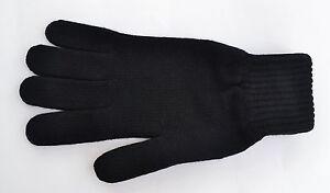 Mens 100% Scottish Cashmere Gloves. black, navy, blue, grey, brown, charcoal