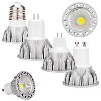 LED COB Spotlight Bulb Dimmable 10W GU10 MR16 E27 GU5.3 110V 220V 12V Lamp GL625