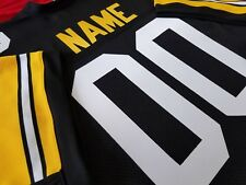 #00 Pittsburgh Steelers Football Jersey Name&Number SEwn-on.7X,8XL,4XL,5XL 6XL,,