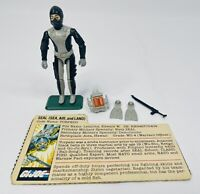 1983 GI Joe ARAH Torpedo - Complete With File Card