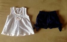 """EUC -00 """" TINY TWIG """" CUTE , COOL TOP AND MATCHING SHORTS / BLOOMERS"""