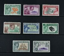 PITCAIRN ISLANDS, KGVI, 1940 / 51, 8 stamps from set to 1s. value, MM, Cat £45.