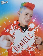 DANIELE NEGRONI - A2 Poster (XL - 42 x 55 cm) - DSDS Clippings Fan Sammlung NEU
