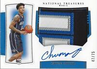 2019-20 National Treasures Rookie Patch Auto Horizontal Chuma Okeke Jersey /75