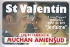 FRANCE TELECARTE / PHONECARD PREPAYEE .. 2MN SEPA PRIVEE AUCHAN LOVE 04/00+N°