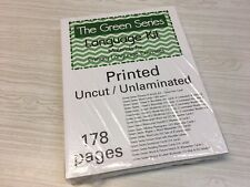 The Green Series - Language Kit - Montessori Materials- (PRINTED)