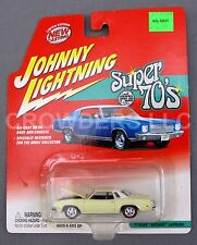 Johnny Lightning Super 70s 77 Off White Olds Cutlass Supreme Oldsmobile Die Cast