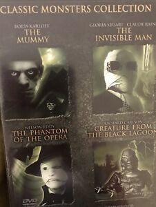 Classic Monsters Collection DVD
