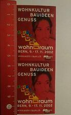 Aufkleber/Sticker: wohn Raum BEA Bern Expo (12071647)