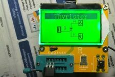 DIY ESR meter graphical Transistor tester capacitor + inductance + resistor +LCR