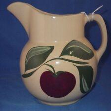 Vintage Watt Pottery 3 Leaf Apple # 16 Pitcher