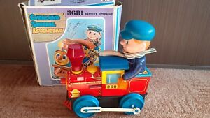 Locomotive 3681 Japan 1968 Vintage train toy