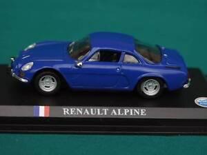 RENAULT ALPINE ALPINA A110 BERLINETTE 1300 1973 SPORTS COUPE DIE CAST MODEL