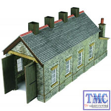 PN932 Metcalfe N Scale Stone Single Track Engine Shed