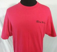 Touch Of Mink Mens XL T Shirt Pink Cotton Hanes Skin Care Tee Vintage 1990s